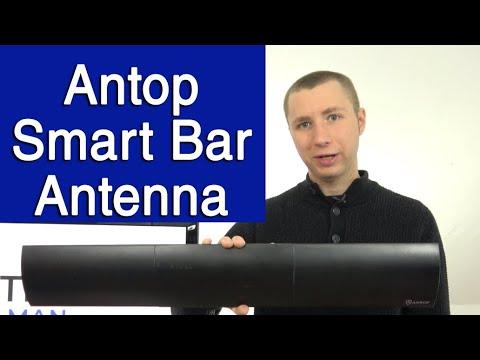 Antop HD Smart Bar Amplified Indoor Antenna