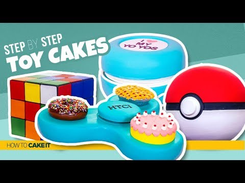 4 Awesome Toy CAKES | Toys As CAKE | How To Cake It | Yolanda Gampp