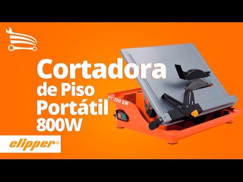 Cortadora De Piso Portatil Com Bancada 800w Tt200em Norton Loja