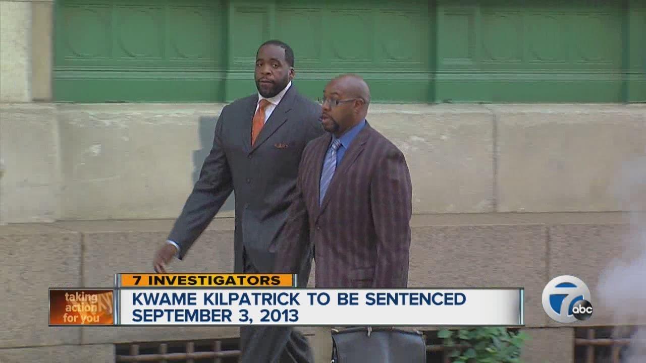 Kwame Kilpatrick To Be Sentenced September 3 2013 Youtube