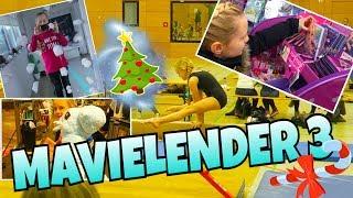 MAVIELENDER 3  🎄 Turnen Wettkampf Adventskalender Vlogmas | Mavie