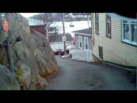 A drive through the Battery in St. John's, Newfoundland and Labrador