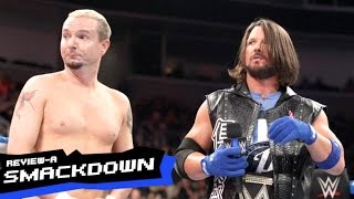wwe smackdown 10 11 16 review james ellsworth pins aj styles   review a smackdown