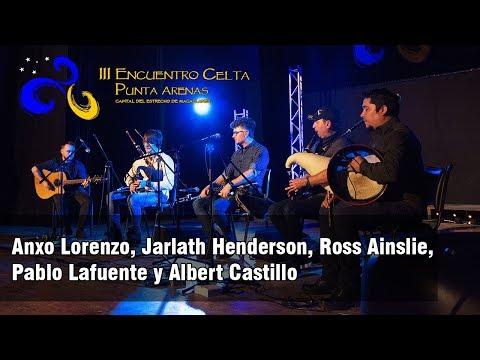 Anxo lorenzo, Jarlath Henderson, Ross Ainslie, Pablo Lafuente y Albert Castillo Chile 2017