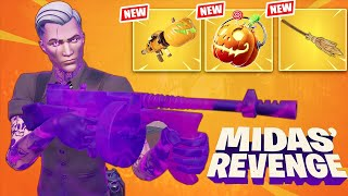 NEW *FORTNITEMARES* MIDAS REVENGE UPDATE! (Fortnite Battle Royale)