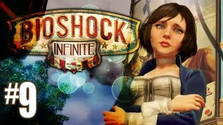 Bioshock Infinite Gameplay Walkthrough - Part 9 - Lock Picker Pro (Xbox 360/PS3/PC HD)