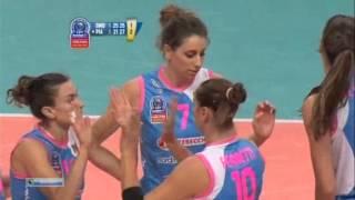 Волейбол  Женщины  ЛЧ  Динамо М    Пьяченца  22 10 2013