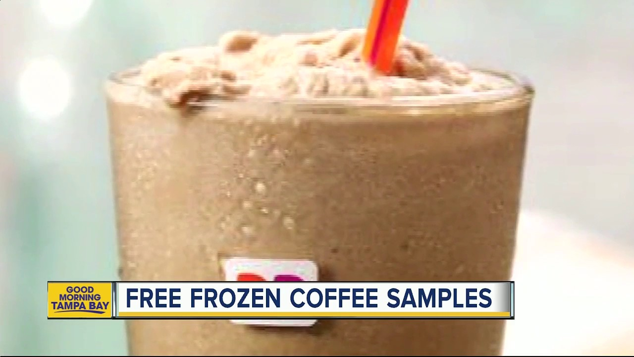 Dunkin' Donuts is giving away samples of its new drink that's replacing the Coffee Coolatta