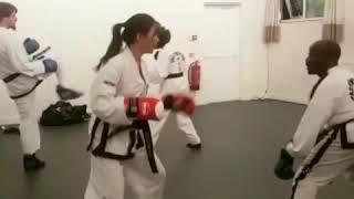 Black Belt Martial Arts INTENSIVE sparring