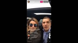 Александра Гозиас о Бузовой в прямом эфире Instagram 14-04-2017