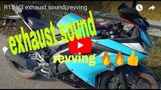 R15 V3 Daytona Exhaust Sound