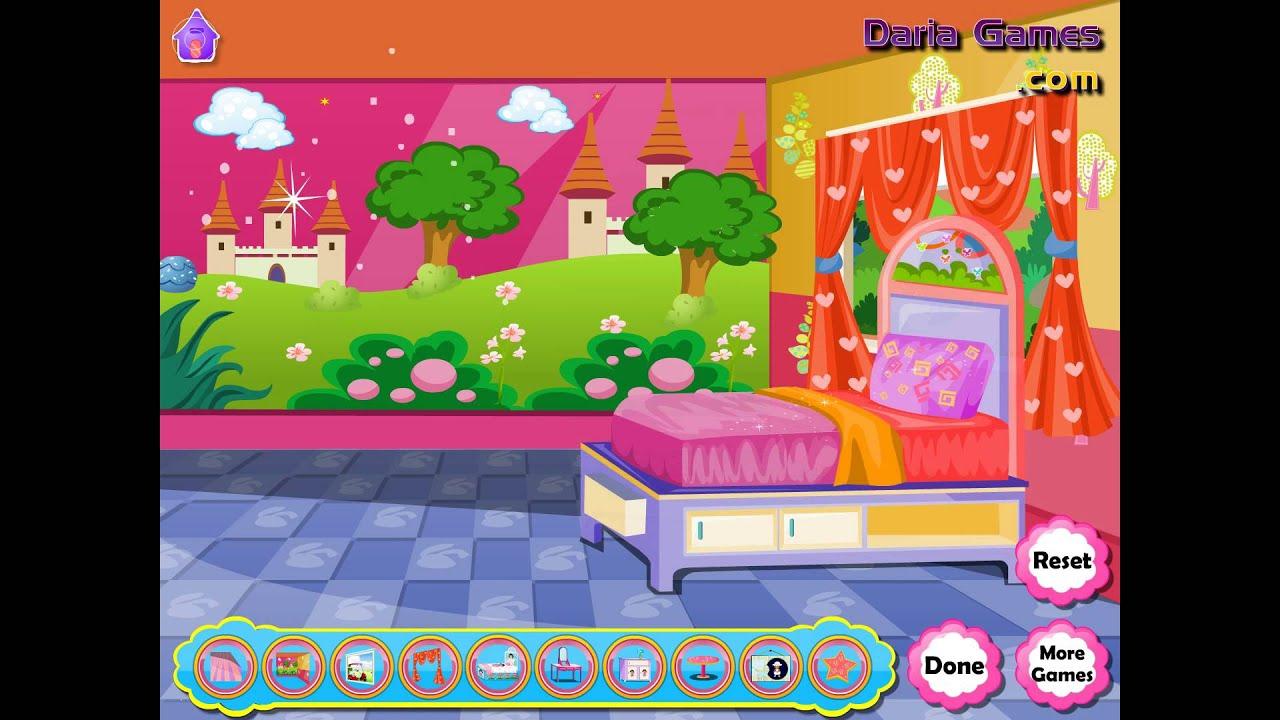 NEW мультик онлайн для девочек—Даша декор комнаты—Игры для ...