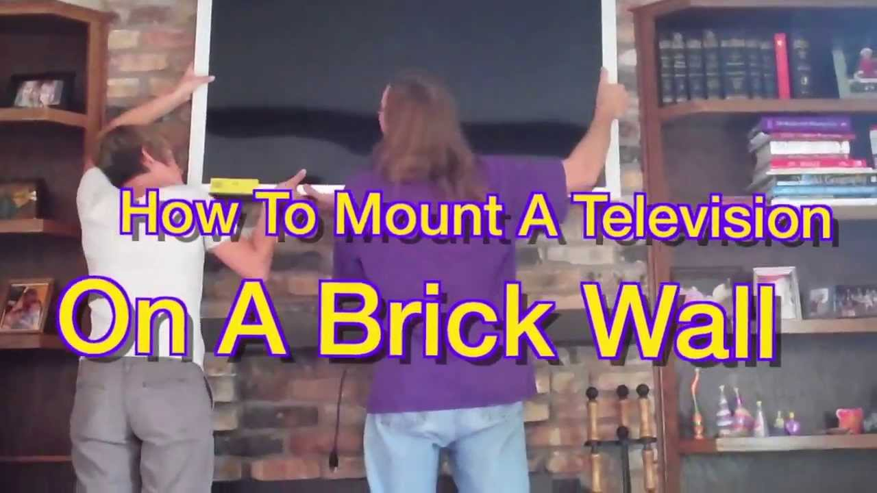So you bought your new flatscreen and want to mount it on a wall. But how? This short video shows you how to mount your new television on the hardest wall po...