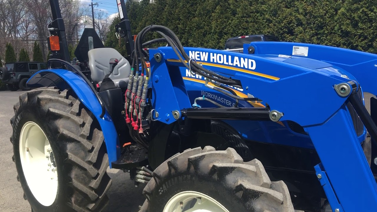 2018 New Holland Workmaster 60 Tractor- $25,900 00