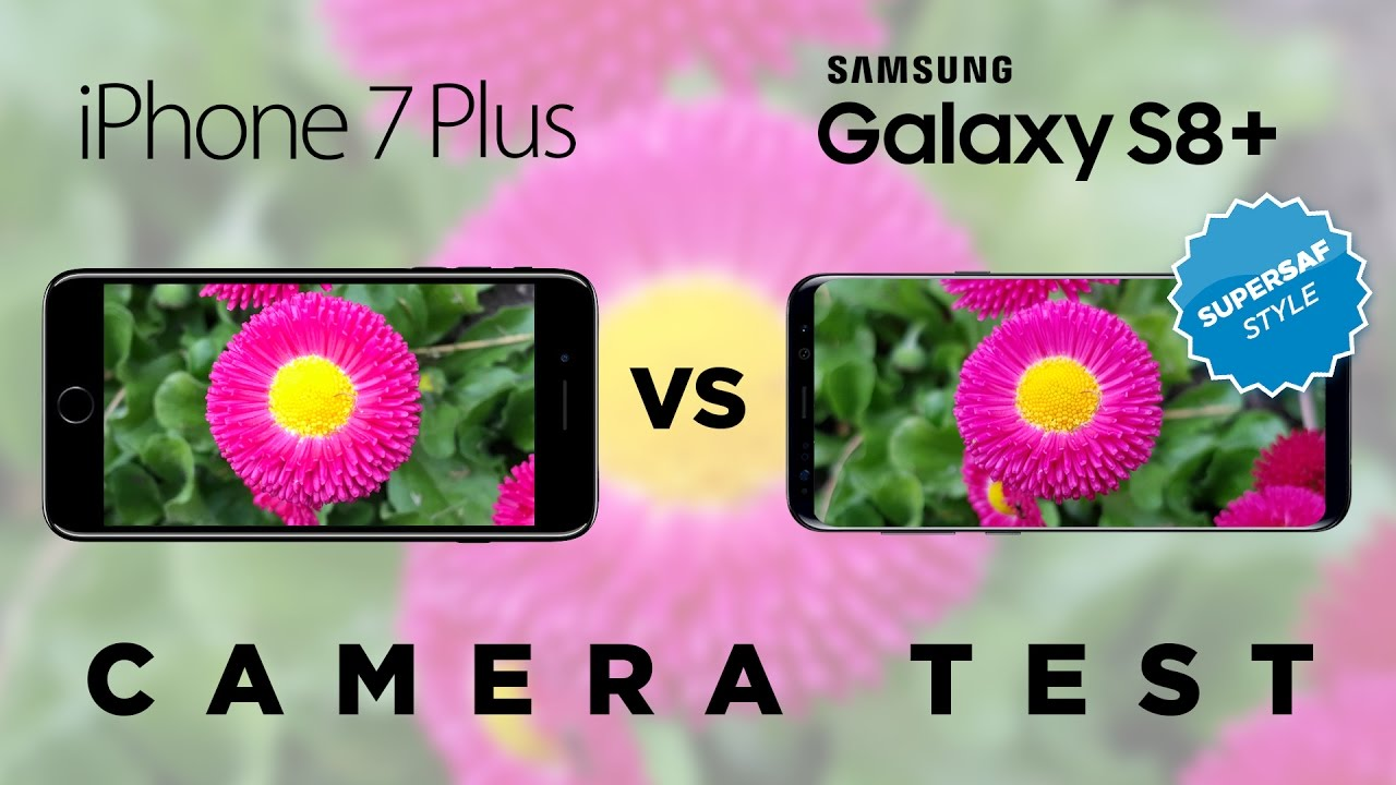 SAMSUNG GALAXY S7 VS IPHONE 7 PLUS CAMERA