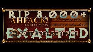 [3.0] RIP Over 8,000 Exalted - Finishing 70% Crit Multi Ammy Sol Locket Onyx Amulet - Epic Video thumbnail