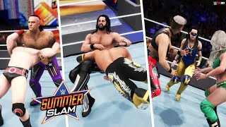 WWE 2K20: SummerSlam 2021 Full Show - Prediction Highlights (Part 2)