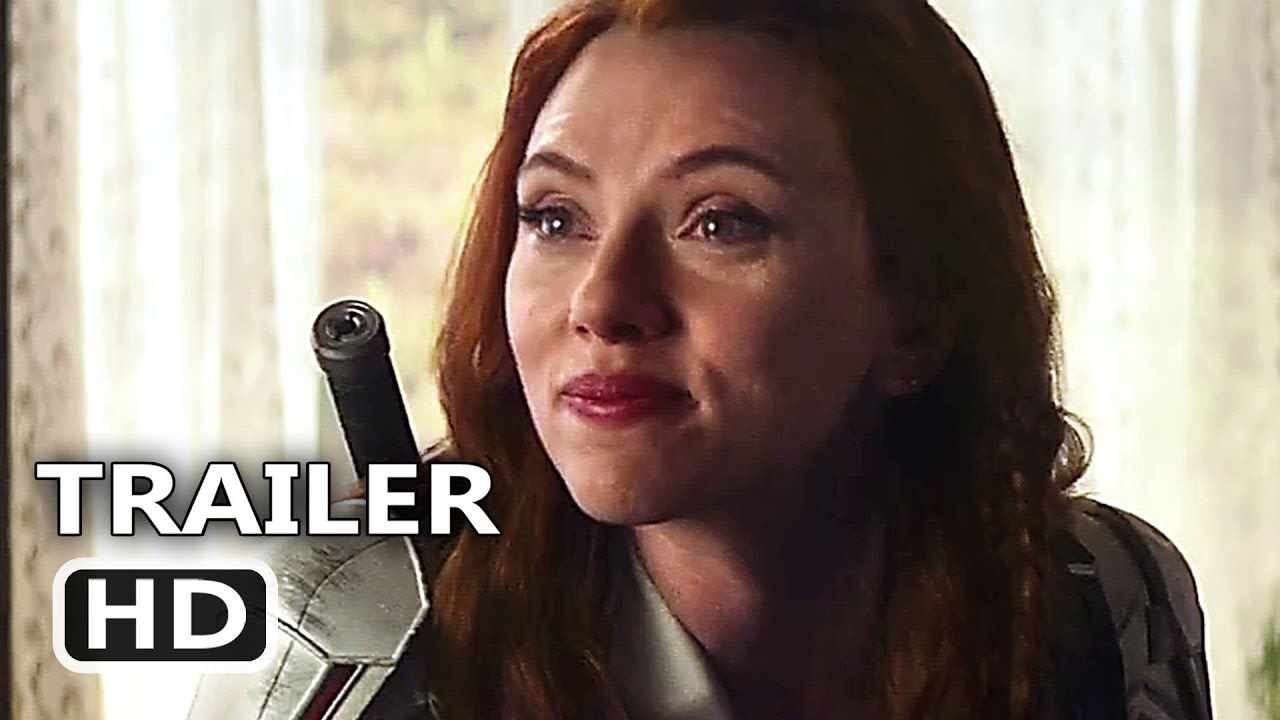 BLACK WIDOW Trailer (2020) Scarlett Johansson Movie