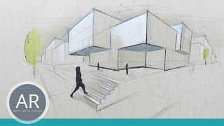Architekturskizzen Schon Und Schnell Visualisiert Mappenbeispiel Architektur Studium