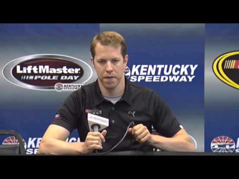 NASCAR Media Center interview with Brad Keselowski- funny!! - Let's Talk Racing