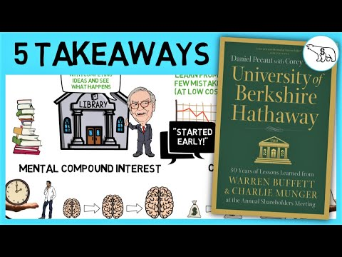THE UNIVERSITY OF BERKSHIRE HATHAWAY (BUFFETT & MUNGER ADVICE)