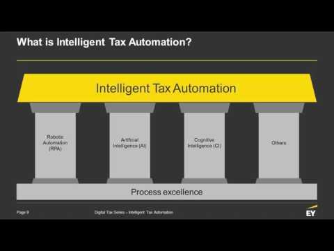 Intelligent Tax Automation Webcast