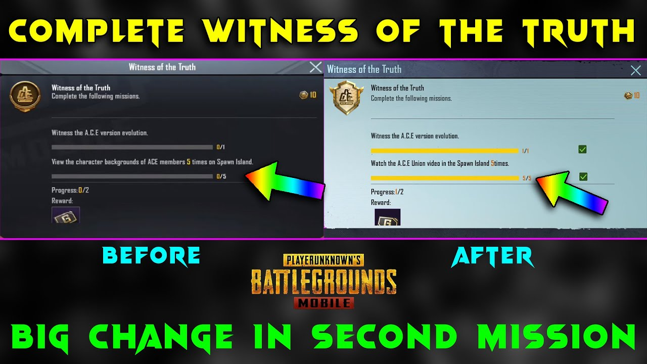 Download HOW TO COMPLETE WITNESS OF THE TRUTH ACHIEVEMENT IN PUBG MOBILE | BIG CHANGE AFTER UPDATE | HG