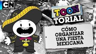 Cómo hacer una fiesta mexicana | Toontorial | Cartoon Network