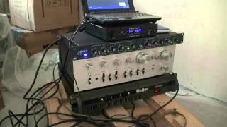 """Tannoy 12"""", Hafler PRO5000, Optonica SM-4000, AshlyXR1001, Mytek, Kaloshy"""