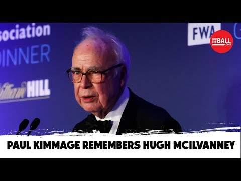 """He was a genius"" - Paul Kimmage remembers Hugh McIlvanney"