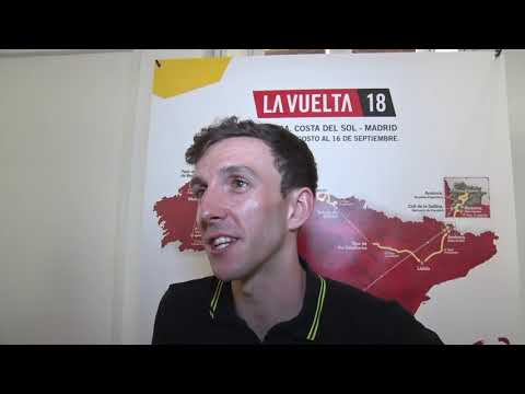 Simon Yates - interview before the race - Tour of Spain / Vuelta a España 2018