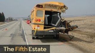 Video Why are there no seat belts on school buses? - The Fifth Estate download MP3, 3GP, MP4, WEBM, AVI, FLV Oktober 2018