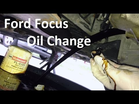 2000-2007 Ford Focus Oil Change