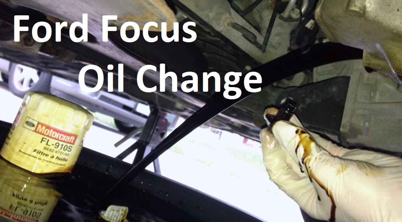 2000 2007 Ford Focus Oil Change