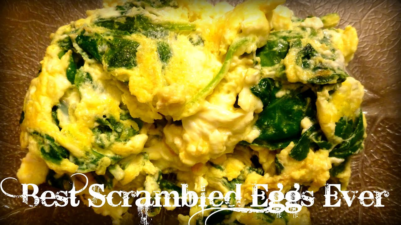 Best Scrambled Eggs Ever   By Victoria Paikin - YouTube