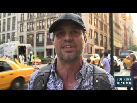 Actor Mark Ruffalo LOVES NYC's New Bike-Share Program
