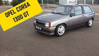 Opel Corsa 1.3 GT Carburador DUPLO - Portugal Stock and Modified Car Reviews