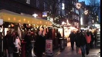 Weihnachtsmarkt   Hannover   -   Lister  Meile    2011