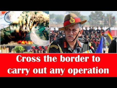 Ready to call Pakistan's nuclear bluff: Army Chief Bipin Rawat