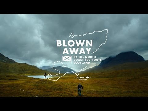 Blown Away, By the North Coast 500 route, Scotland