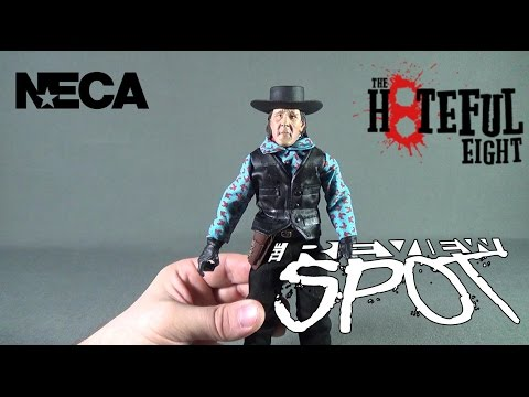 "Collectible Spot - NECA The Hateful Eight Retro Cloth Joe Gage ""The Cow Puncher"""