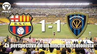 Barcelona S.C 1 vs Independiente 1 fecha 14 segunda etapa CBP2017