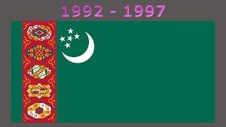 History of the Turkmen flag