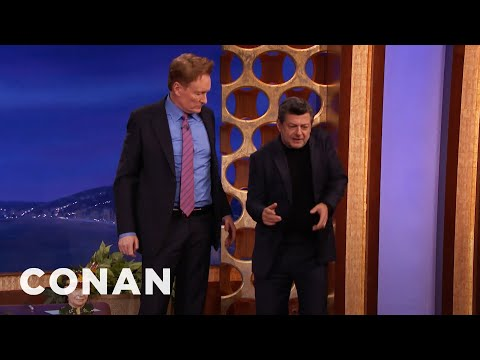 Motion Capture Master Andy Serkis Plays Conan   CONAN on TBS