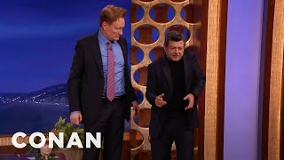 Motion Capture Master Andy Serkis Plays Conan  - CONAN on TBS