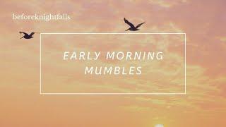 ASMR Boyfriend: Early Morning Mumbles