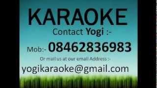 Aaja sanam madhur chandni me hum karaoke track
