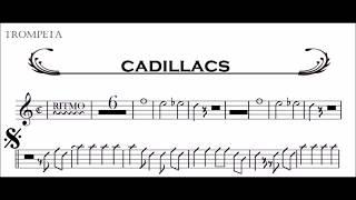 Partituras Gratis Tema Cadillacs Sax alto, Trompeta y Trombon - Fabulosos Cadillacs