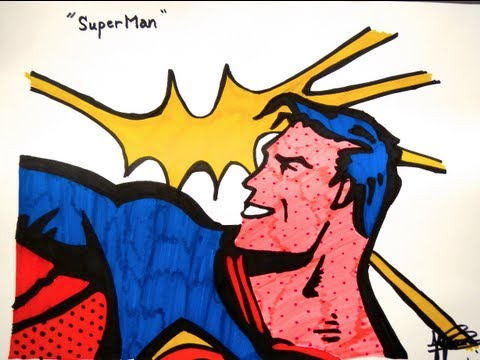 Speed Draw - Superman POP ART