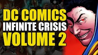 Superboy Prime vs 2 Supermen & 30 Green Lanterns (Infinite Crisis Conclusion)
